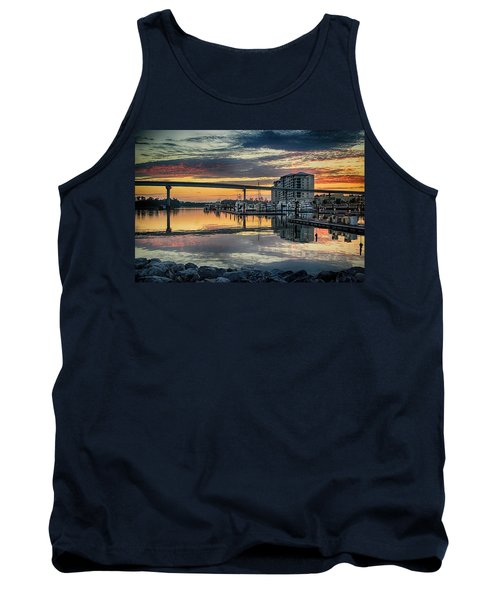 Intercoastal Waterway And The Wharf Tank Top