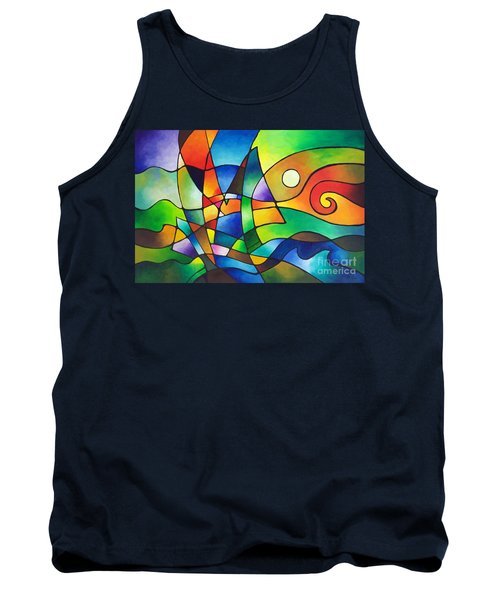 Into The Wind Tank Top