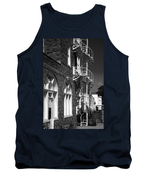 Jacaranda Hotel Fire Escape Tank Top