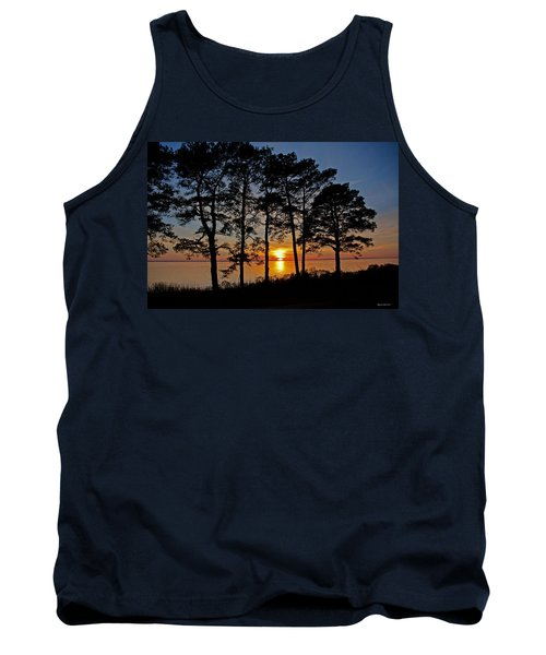 James River Sunset Tank Top by Suzanne Stout