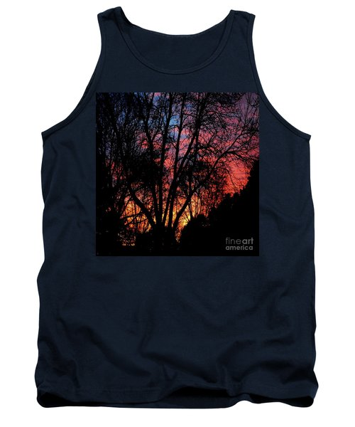 Tank Top featuring the photograph January Dawn by Luther Fine Art