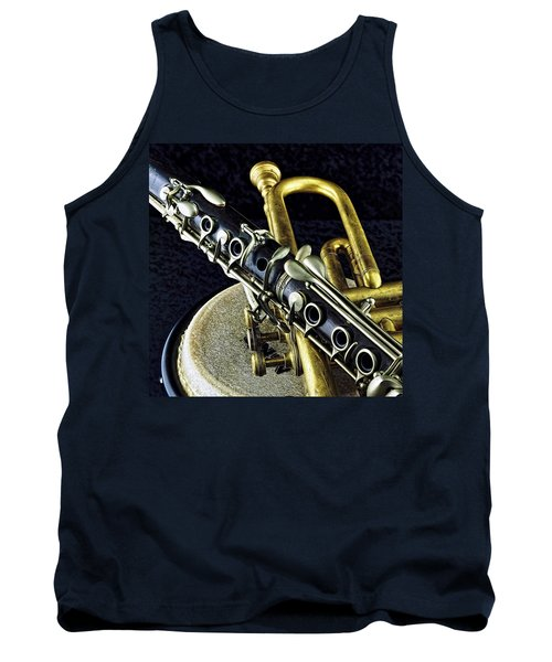 Tank Top featuring the photograph Jazz by Elf Evans