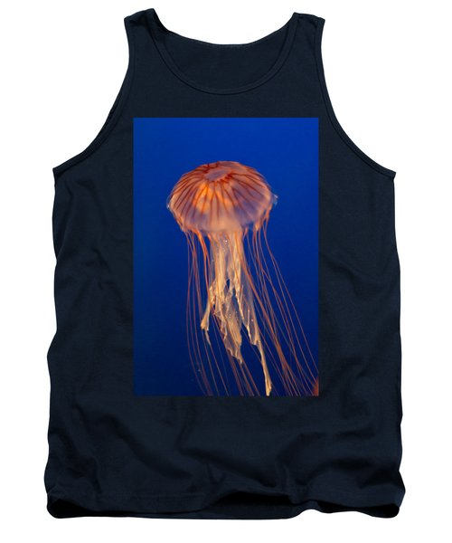 Tank Top featuring the photograph Jelly Fish by Eti Reid