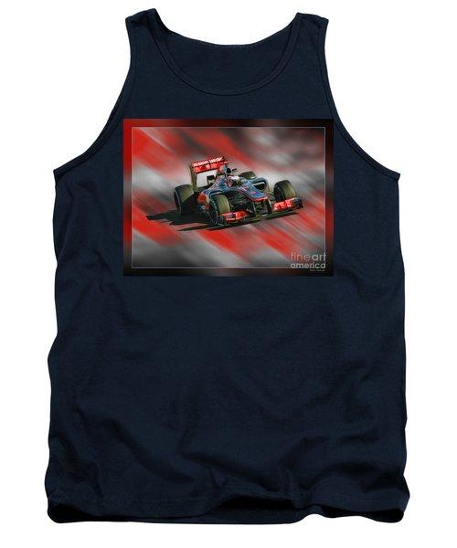 Jenson Button  Tank Top