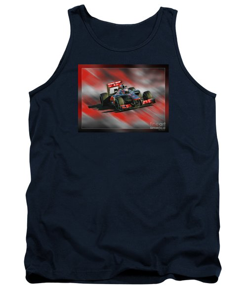 Jenson Button  Tank Top