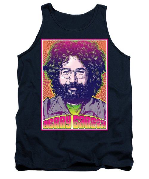 Jerry Garcia Pop Art Tank Top