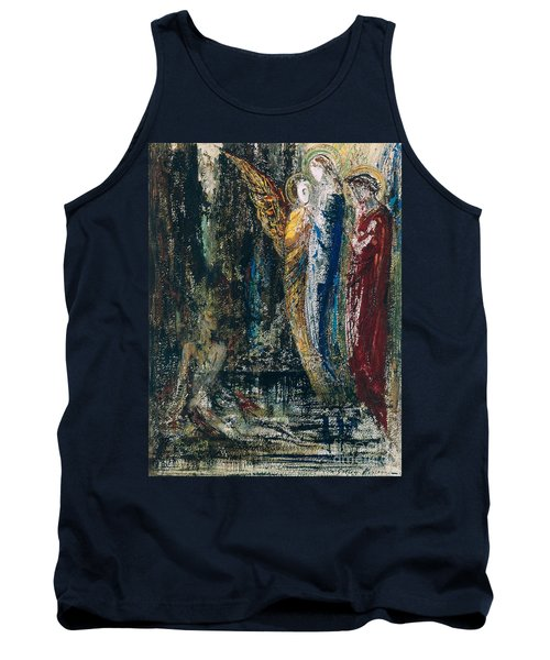 Job And The Angels Tank Top
