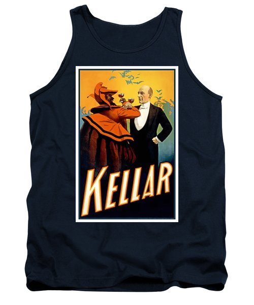 Kellar Toasts The Devil Tank Top