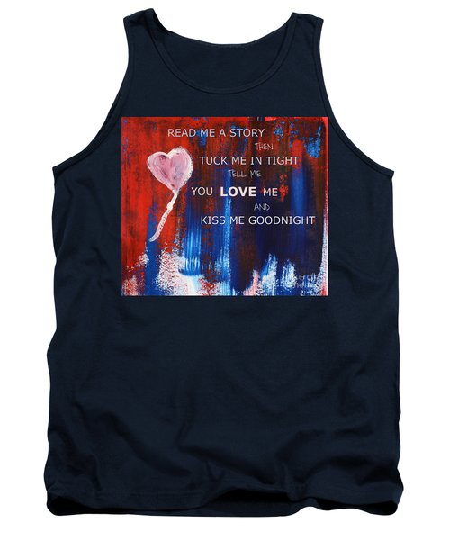 Kiss Me Goodnight Tank Top