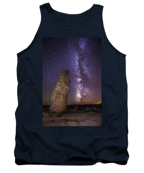 Tank Top featuring the photograph Kodachrome Galaxy by Dustin  LeFevre