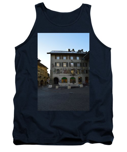 Tank Top featuring the photograph Kronenplatz by Felicia Tica