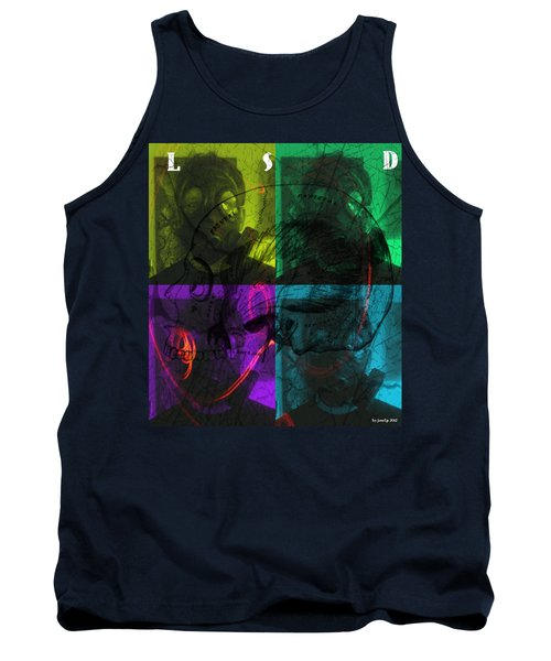 Tank Top featuring the photograph L S D  Part One by Sir Josef - Social Critic - ART