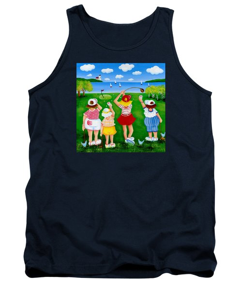 Ladies League Door County Tank Top by Pat Olson