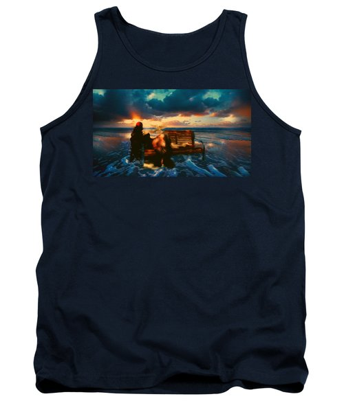 Lady Of The Ocean Tank Top