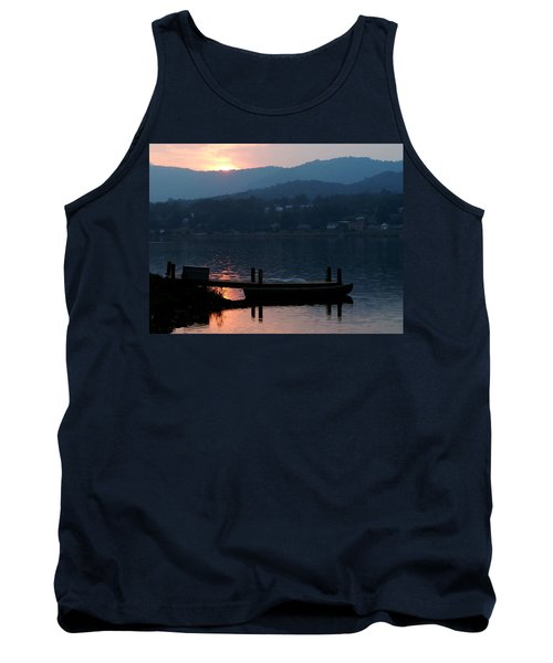 Lake J Sunset Tank Top
