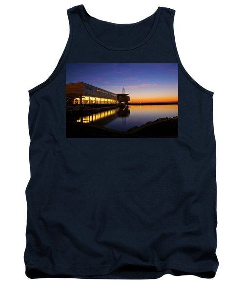 Tank Top featuring the photograph Lakefront Sunrise by Jonah  Anderson
