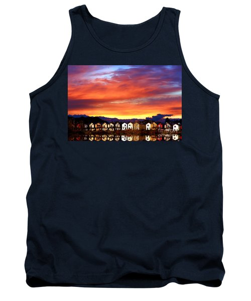 Lakeside Reflections Tank Top by Nick Gustafson