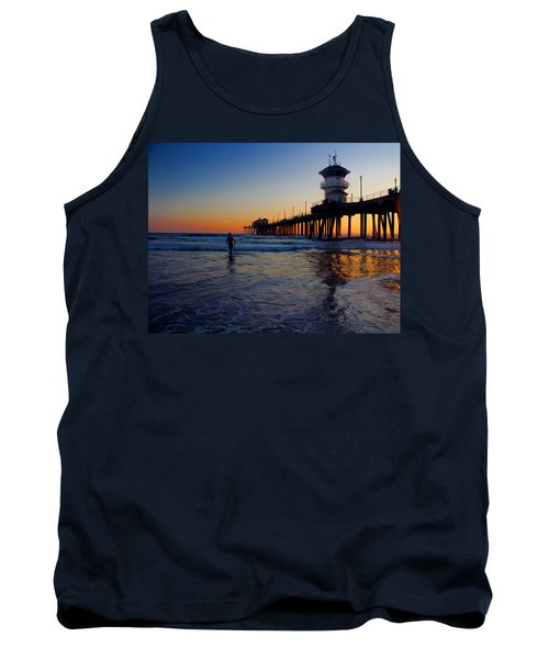 Tank Top featuring the photograph Last Wave by Tammy Espino