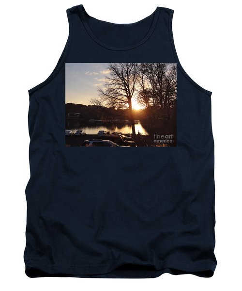 Late Fall At The Station Tank Top