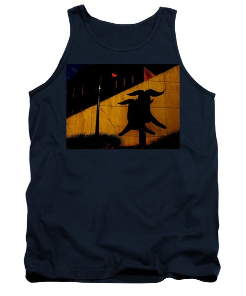 Tank Top featuring the photograph Lehigh University Sculpture By Kadishman by Jacqueline M Lewis
