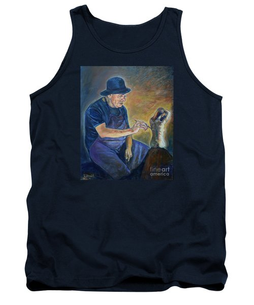 Figurative Painting Tank Top
