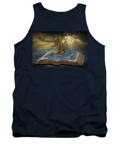 Let The Adventure Begin Tank Top