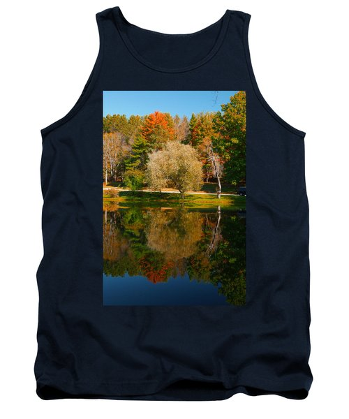 Letchworth Autumn Reflections Tank Top