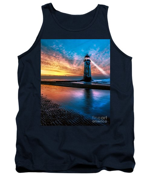 Light House Sunset Tank Top