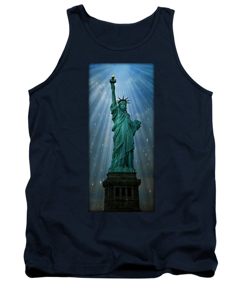 Light To The Nations Tank Top
