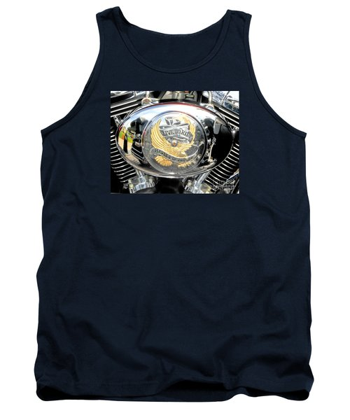 Tank Top featuring the photograph Live To Ride - Ride To Live 2 By David Lawrence by David Perry Lawrence