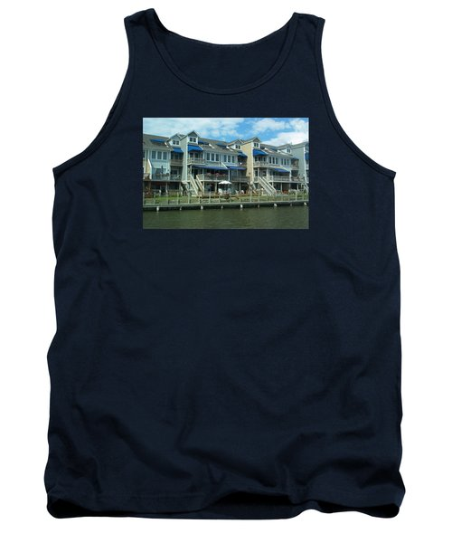 Tank Top featuring the photograph Living On The Dock Of The Bay by Emmy Marie Vickers
