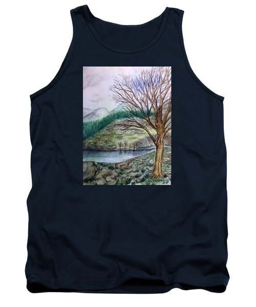 Loch Ard Stirling Overlooking Loch A'ghleannain Tank Top