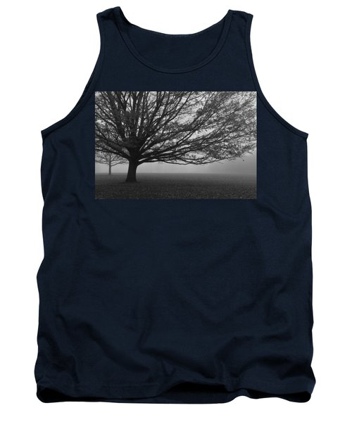 Tank Top featuring the photograph Lonely Low Tree by Maj Seda