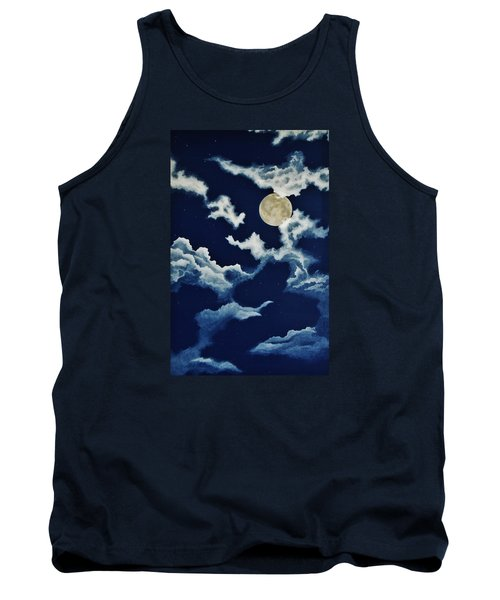 Look At The Moon Tank Top by Katherine Young-Beck