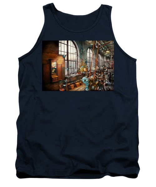 Machinist - Back In The Days Of Yesterday Tank Top