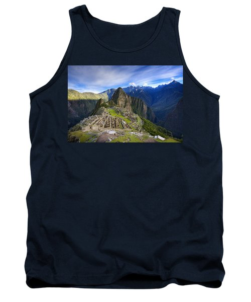 Machu Picchu Tank Top by Alexey Stiop