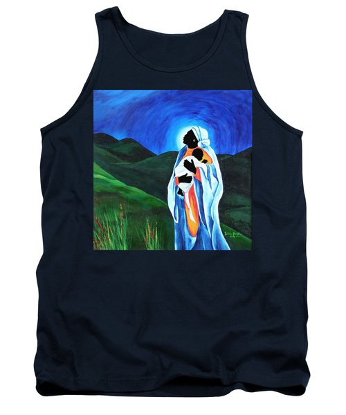 Madonna And Child  Hope For The World Tank Top