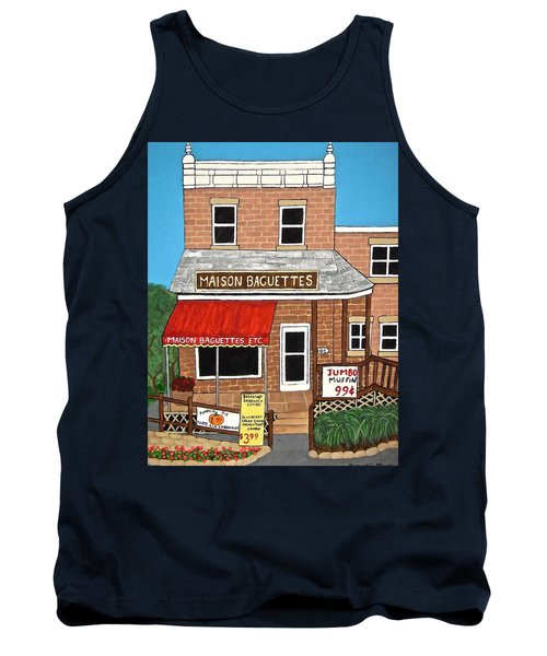 Maison Baguettes Tank Top by Stephanie Moore