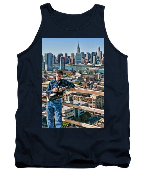 Man At Work Tank Top