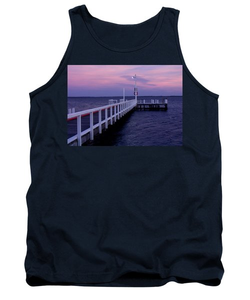 Manns Beach Jetty Tank Top by Evelyn Tambour