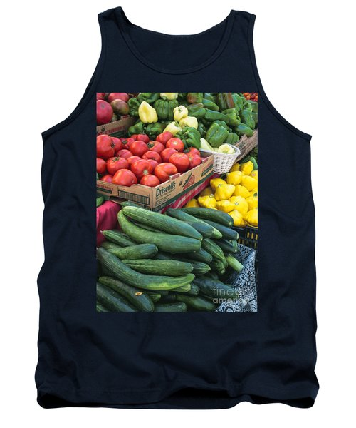 Tank Top featuring the photograph Market Freshness by Arlene Carmel
