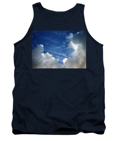 Tank Top featuring the photograph Maui Clouds by Evelyn Tambour