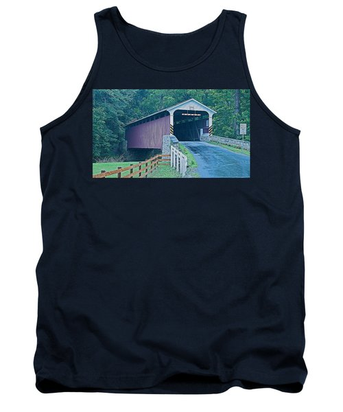 Mercer's Mill Covered Bridge Tank Top