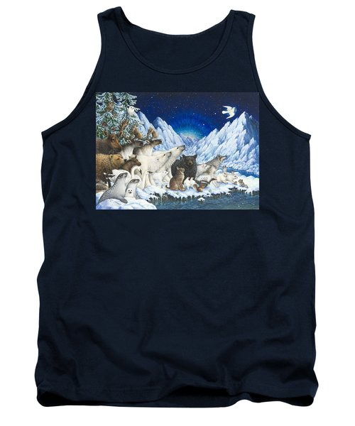 Message Of Peace Tank Top