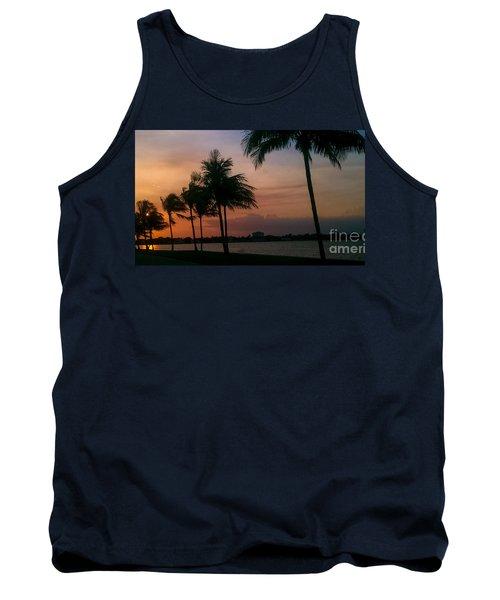 Miami Sunset Tank Top