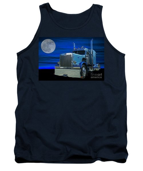 Midnight Peterbilt Tank Top