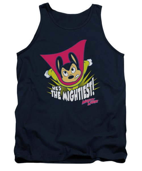 Mighty Mouse - The Mightiest Tank Top