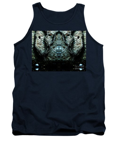 Mirror Mirror On The Wall Tank Top by Andy Prendy