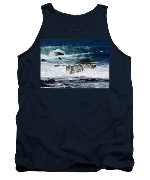 Tank Top featuring the photograph Monterey-6 by Dean Ferreira
