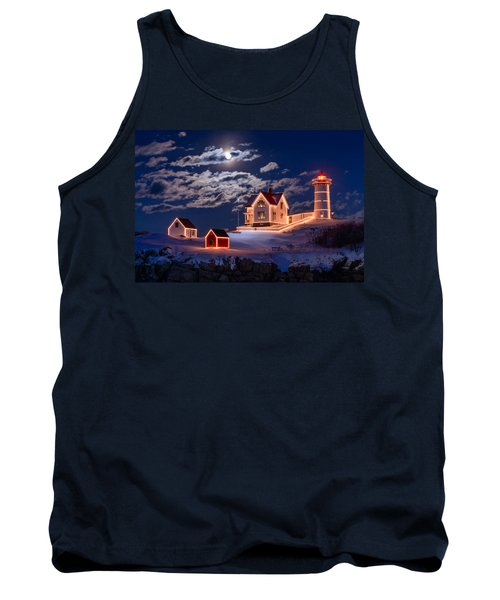 Moon Over Nubble Tank Top